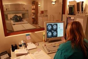MRI in operation
